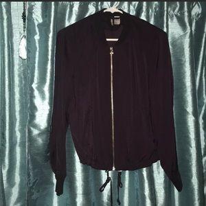 Deep Purple Bomber Jacket